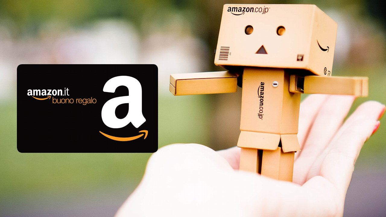 Buoni regalo amazon spendi 60 euro e ne ricevi 8 di sconto for Codici regalo amazon