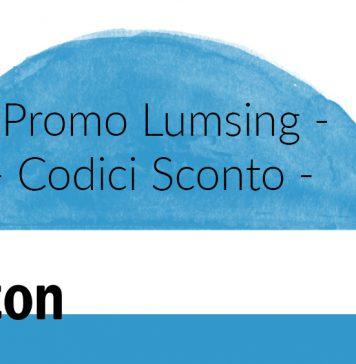 GizDeals - Promo Lumsing Codici Sconto Amazon