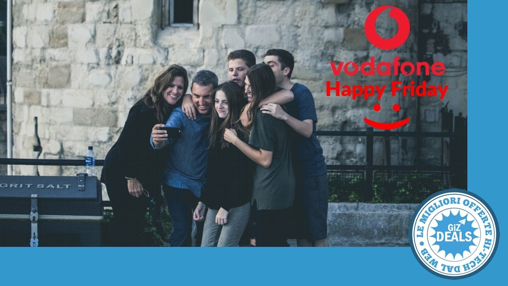 GizDeals - Vodafone Happy Friday