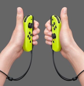 nintendo switch joy-con gialli yellow
