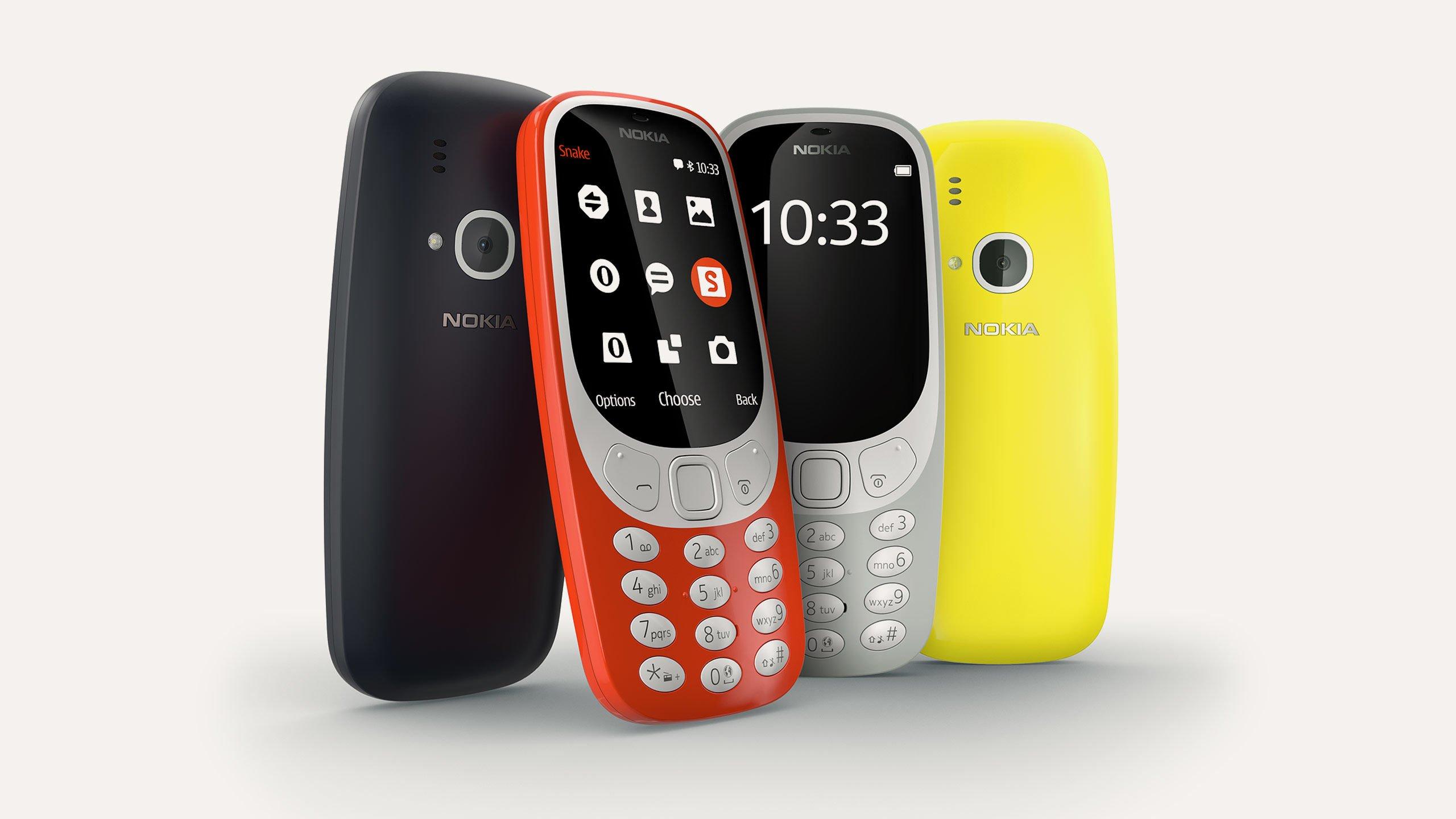 Il Nokia 3310 arriva in Italia il 25 maggio a 60 euro