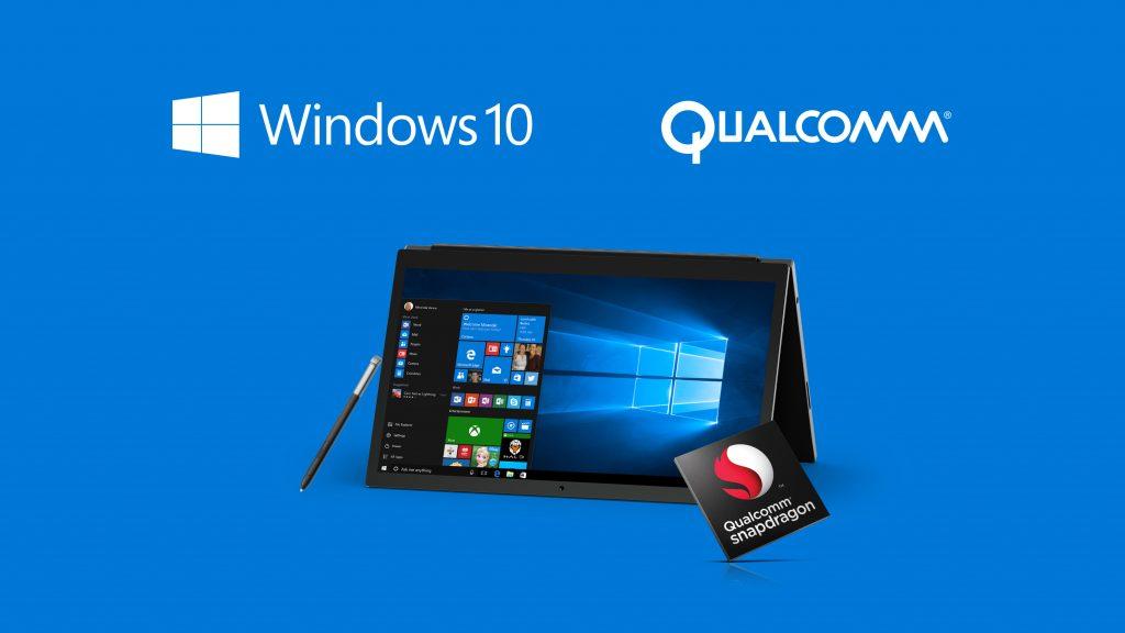 qualcomm snapdragon pc windows 10