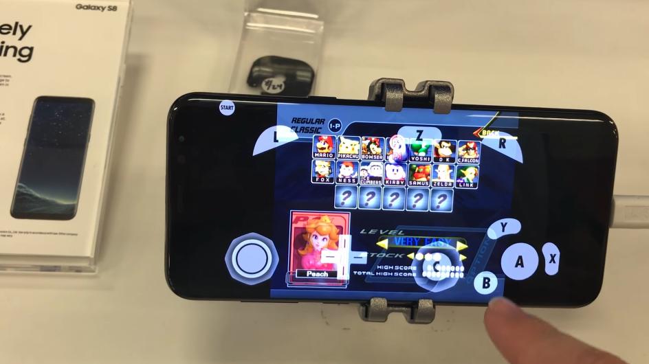 samsung galaxy s8 emulatore gamecube