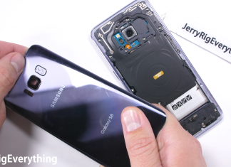 samsung galaxy s8 teardown