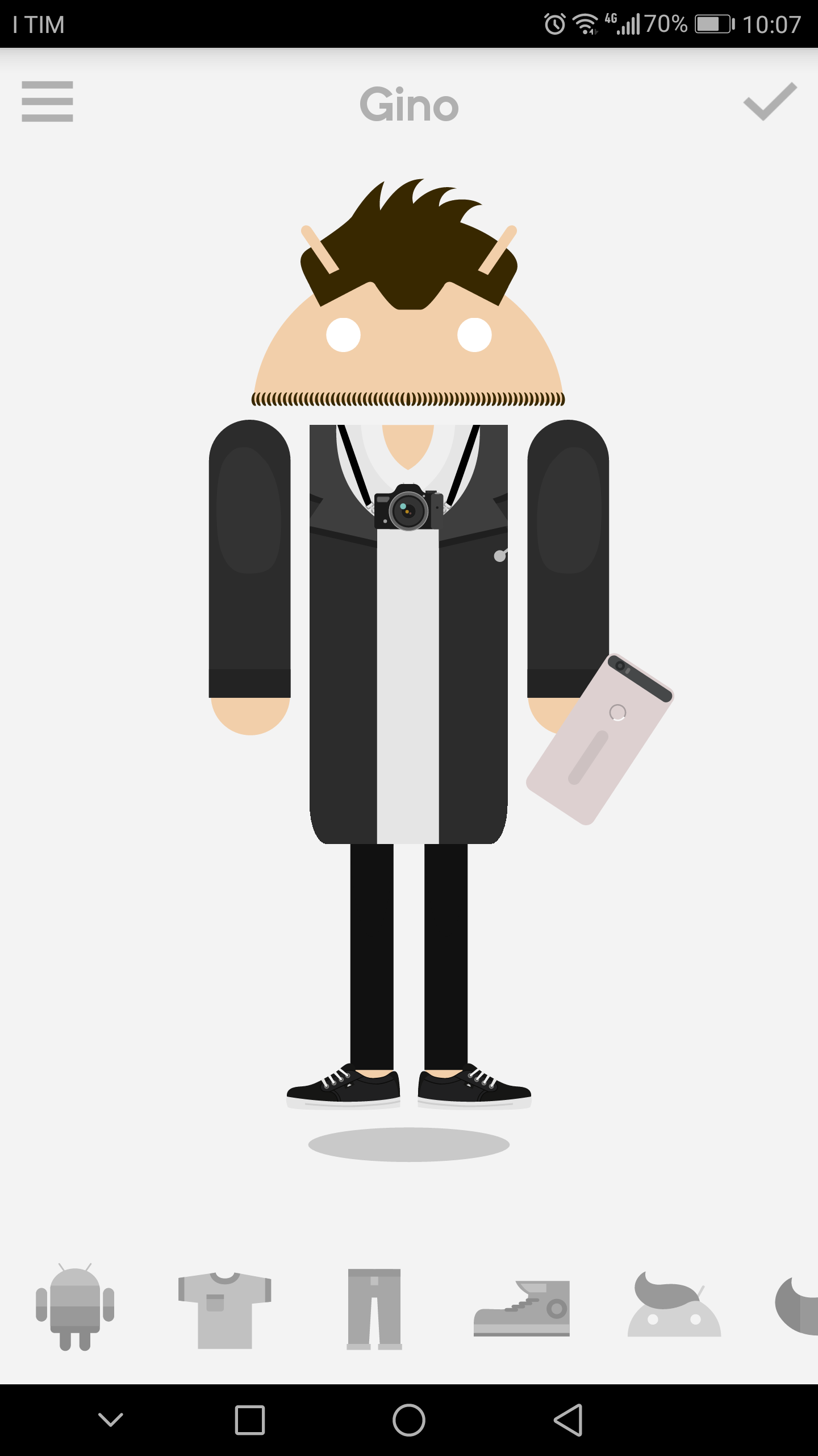 Mejor aplicación de 5 - Androidify