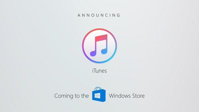 apple itunes windows store