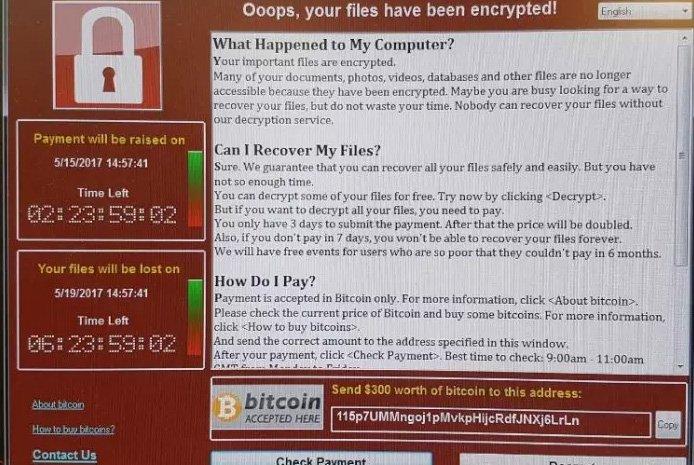 Attacco hacker in tutto il mondo: pure in Italia