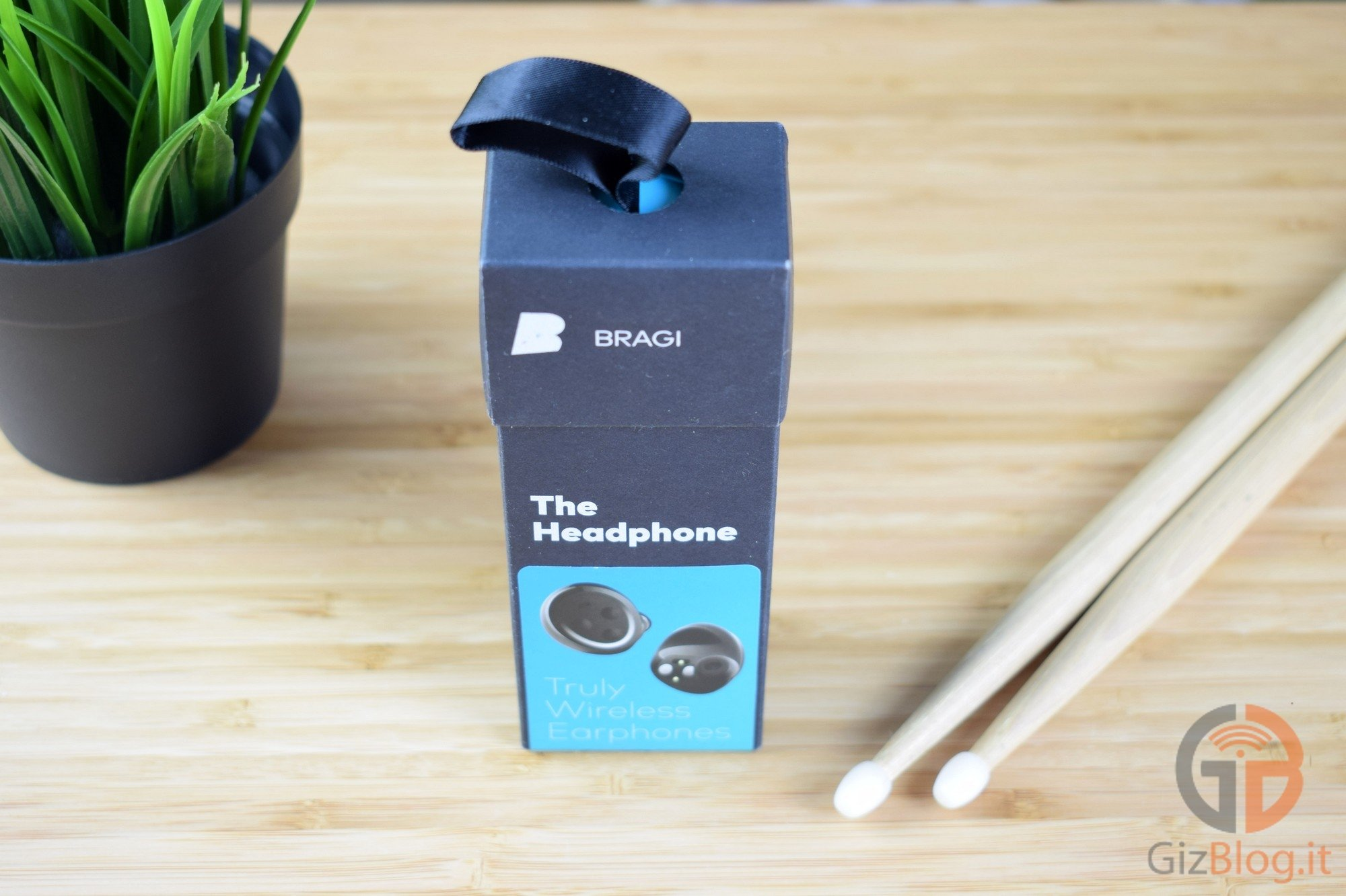 Bragi - The Headphones - Revisão do GizBlog - Embalagem