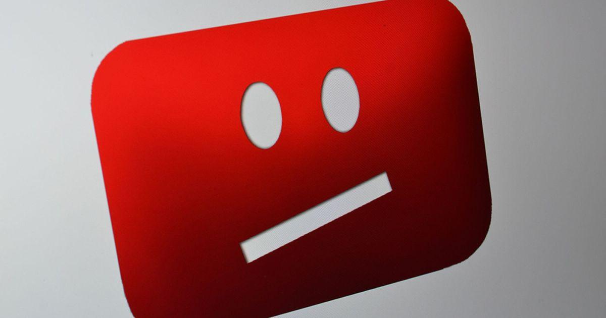 crise do youtube