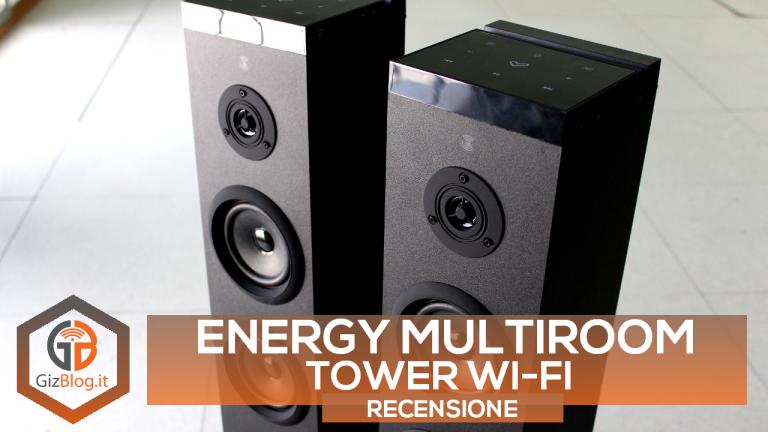 energy multiroom tower wi-fi recensione