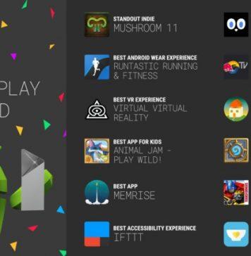Google Play Award Winners 2017
