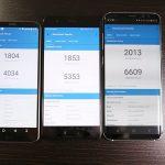 Samsung Galaxy S8+ vs LG G6 vs Huawei P10 benchmark