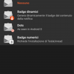 nova launcher notifiche android o