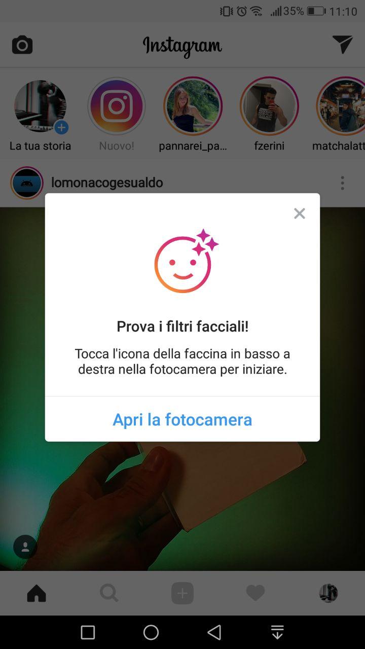 instagram filtri ar snapchat