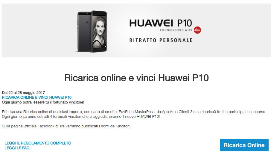 Huawei P10 3 Italia