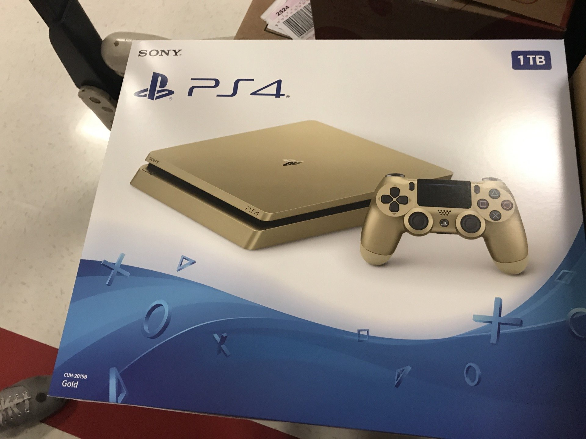 PlayStation 4 Slim Gold Edition