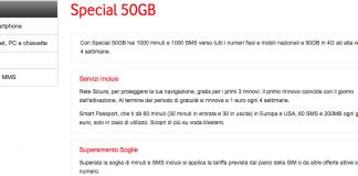 Vodafone Special 50 GB