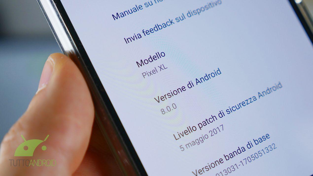 Google rilascia la terza Developer Preview di Android O | Factory Image
