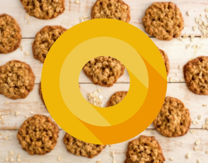 android 8.0 oatmeal cookie