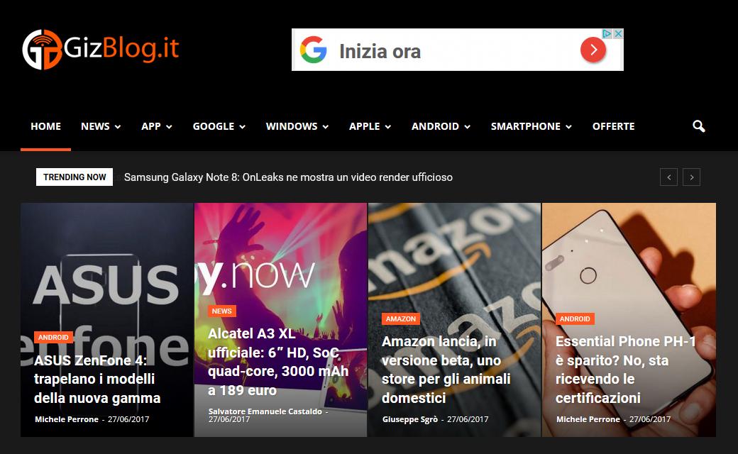 GizBlog.it met à jour 3
