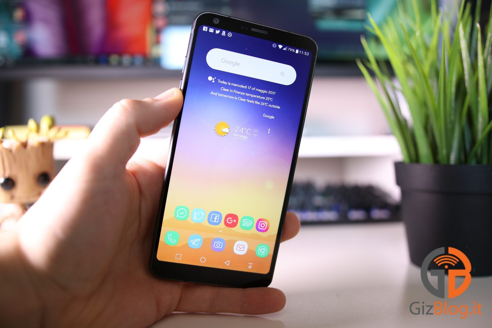 LG G6照片手机