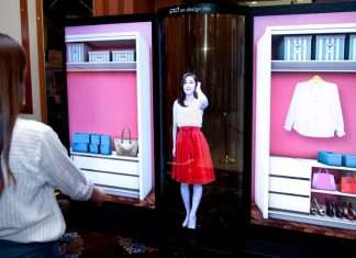LG OLED display 77 pollici flessibile trasparente