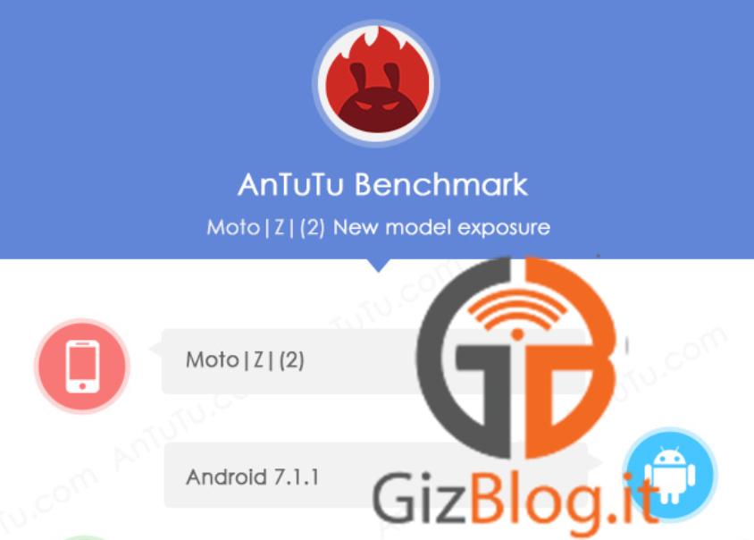Moto Z2 Antutu Motorola