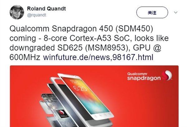 Qualcomm al lavoro su Snapdragon 450: octa-core Cortex-A53 a 14 nm