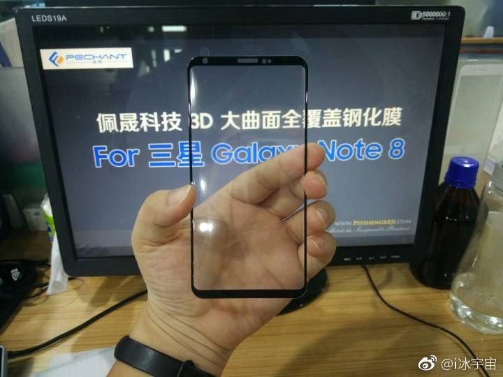 Samsung Galaxy Note 8 :