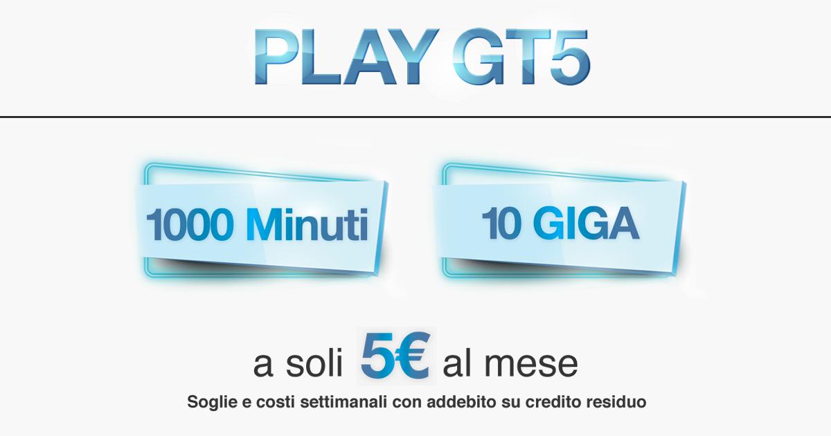 Offerte Tre Italia: Play GT5 e Play GT7 fino al 9 giugno