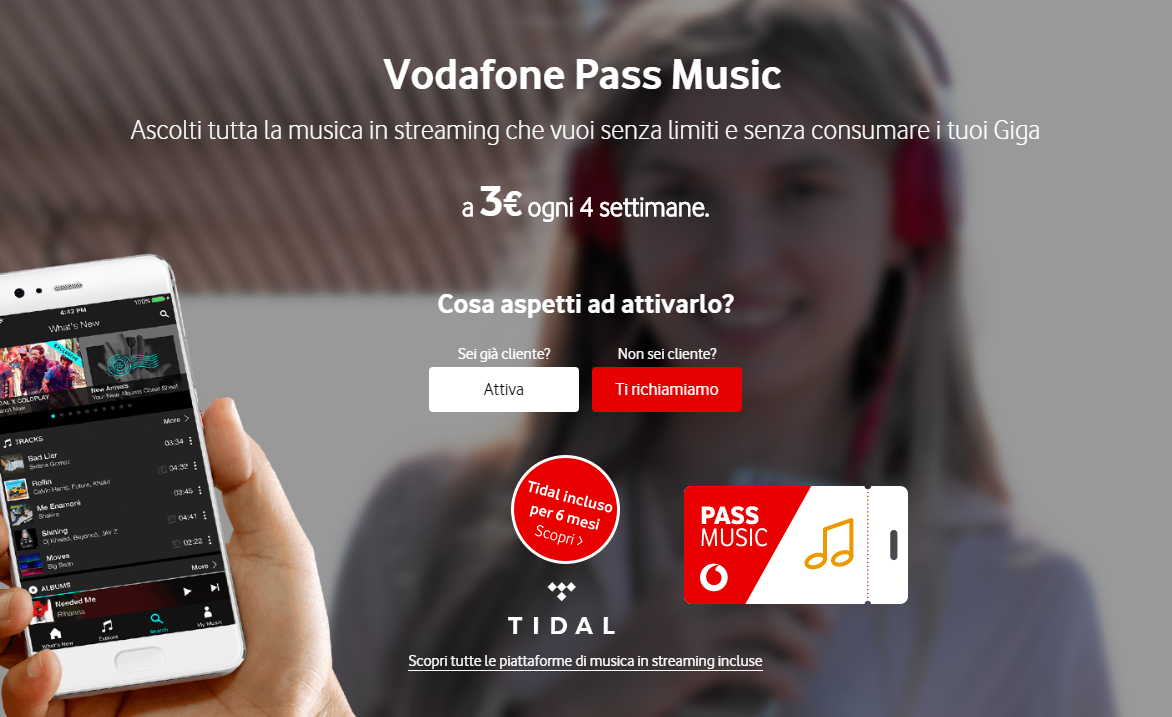 Vodafone Music Pass