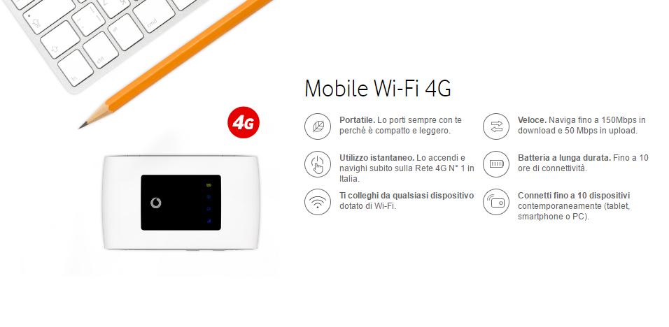 vodafone mobile wi-fi 4g