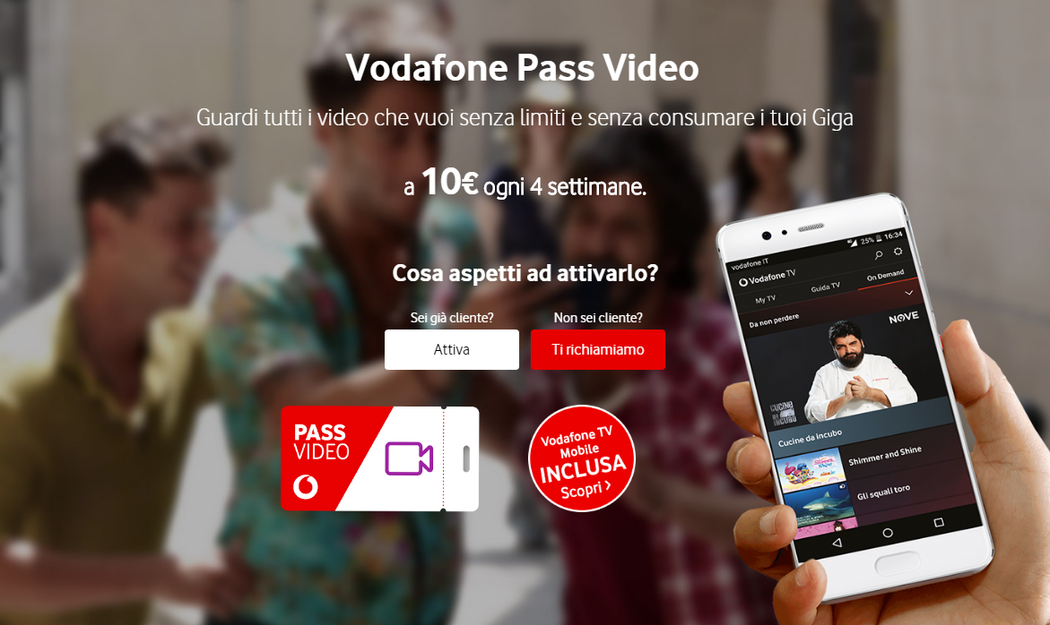 Vodafone pass video