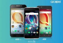 Alcatel Idol 5S Alcatel A50 Alcatel A30 Plus