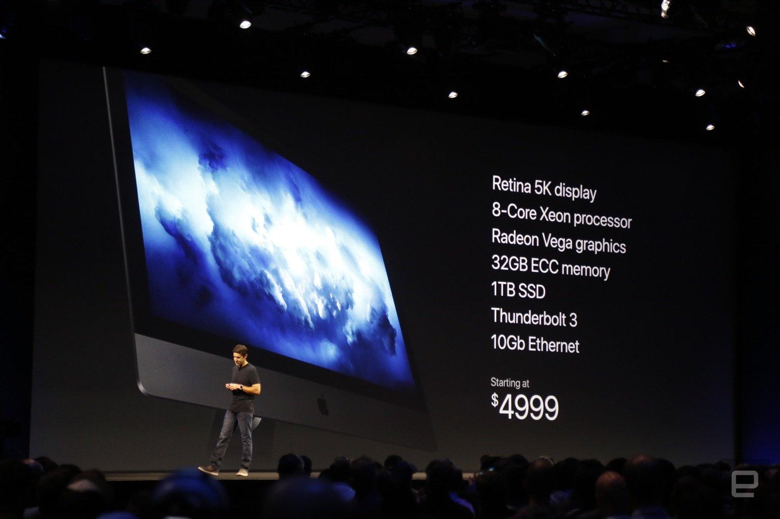 Apple iMac Pro, il Mac piu potente mai realizzato da Apple