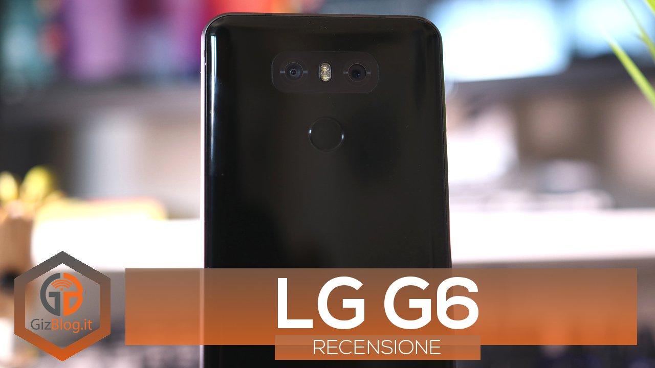 recensione LG G6 copertina