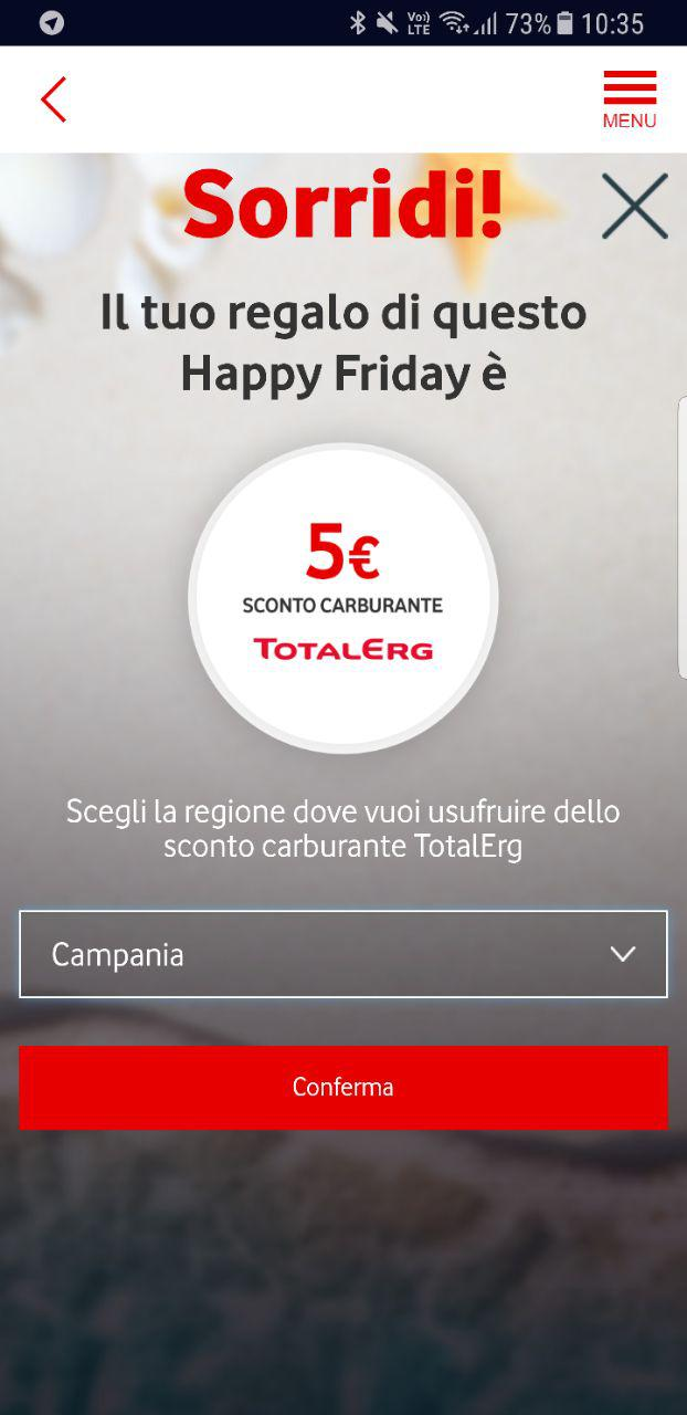 Vodafone Happy Friday Total Erge