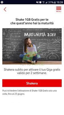 Vodafone Shake 1 GB gratis
