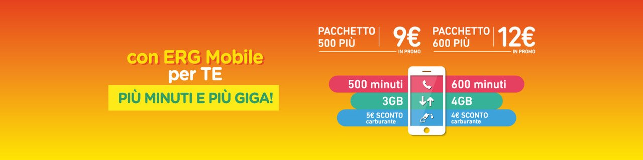 ERG Mobile 500 Più 600 Più