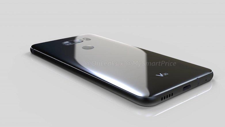 LG V30: nuovi render mostrano il design