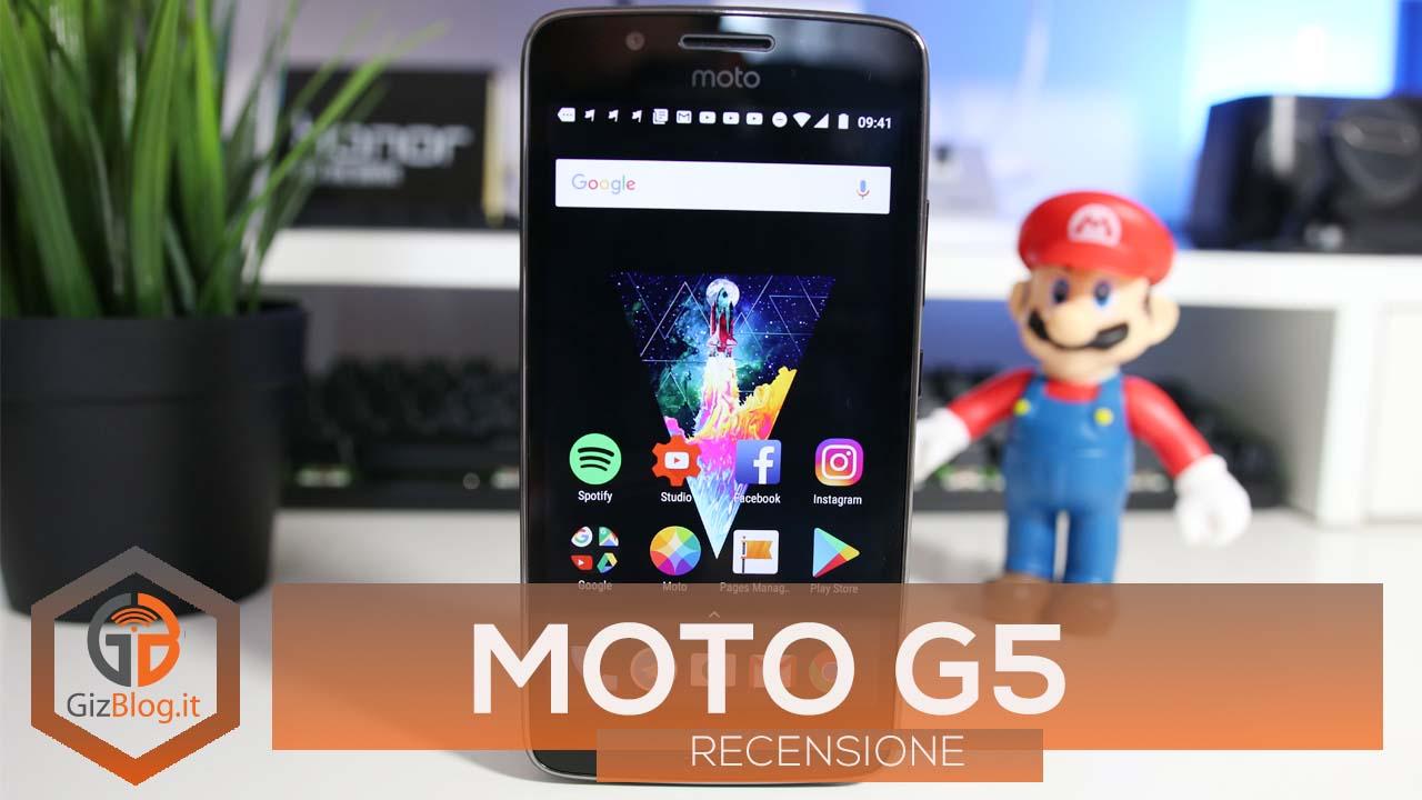 RECENSIONE | Moto G5: l'entry-level di una volta