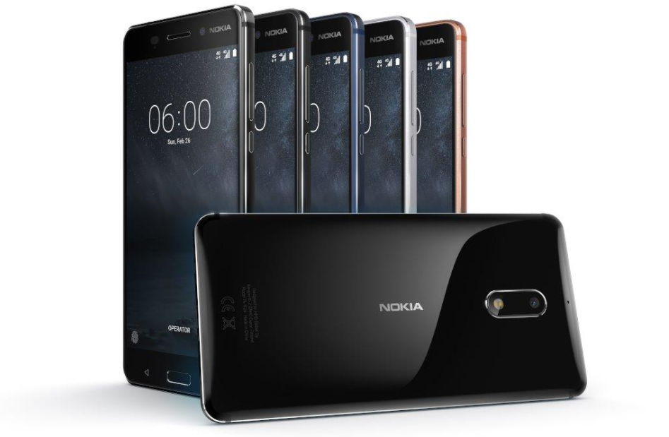Nokia 6 Italiaanse lancering