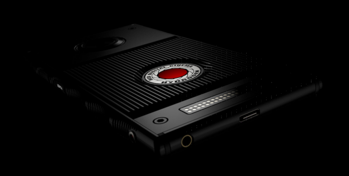 red smartphone