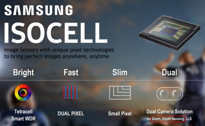 samsung dual camera isocell