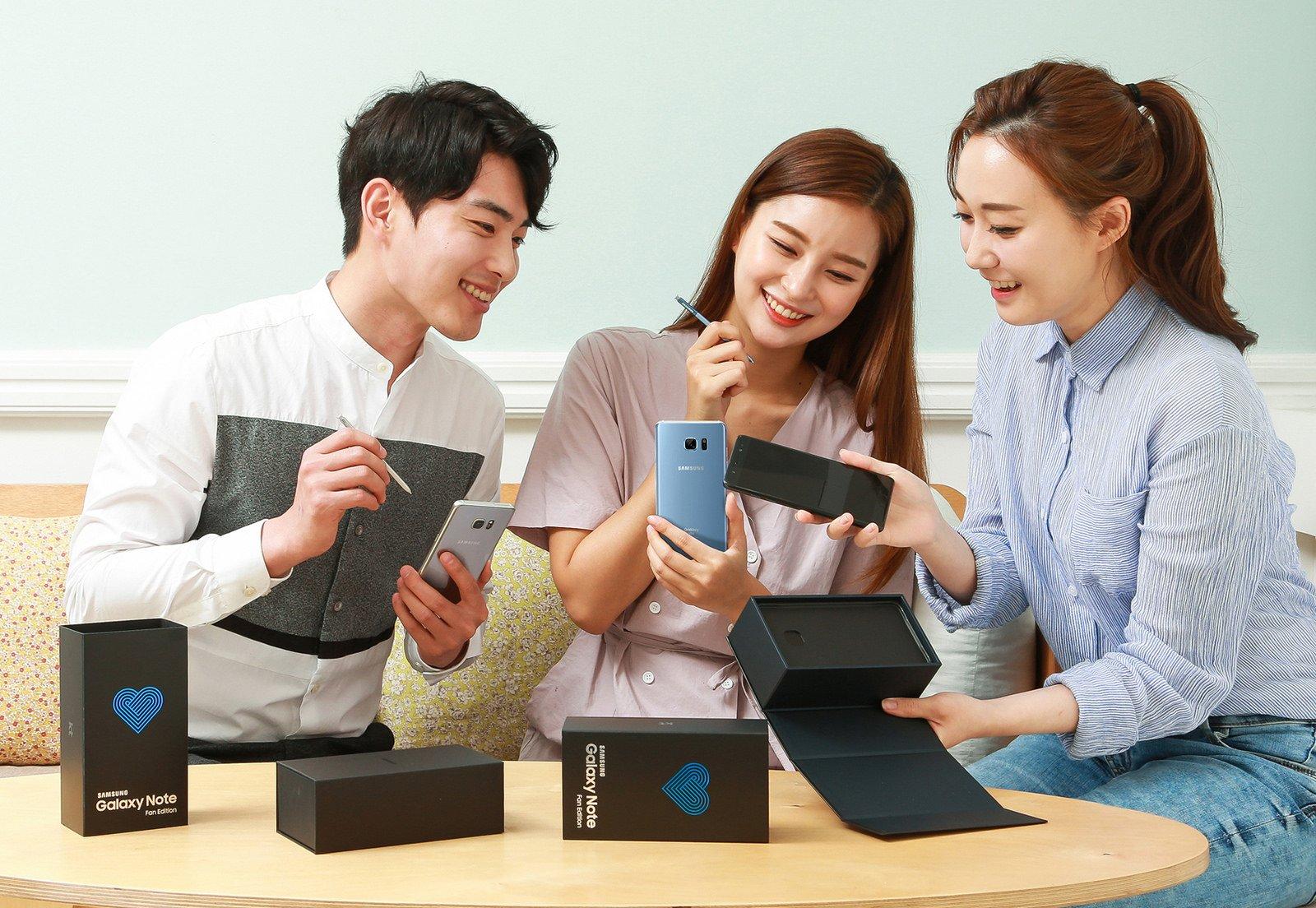 I Galaxy Note 7 tornano sul mercato