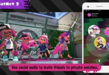 Nintendo Switch Online App Splatoon 2