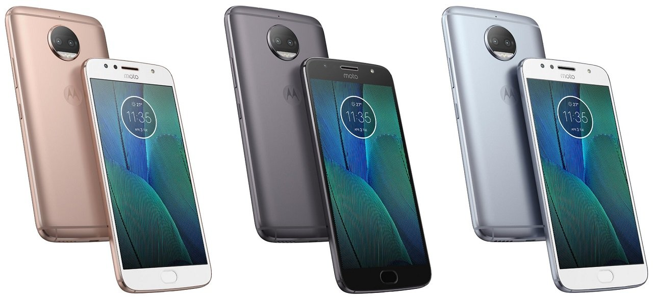 Moto G5s Plus colorazioni