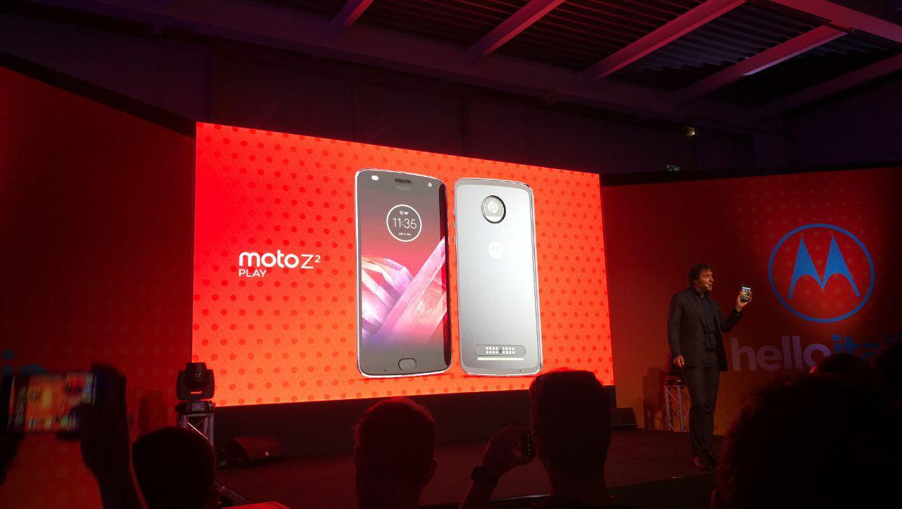Motorola Z2 Spielen