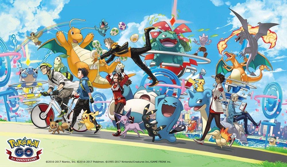 Annunciato l'evento dedicato al primo anniversario di Pokémon GO