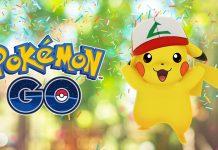 Pokémon GO evento 1 anno